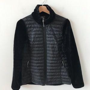 32 Degree Heat mixed media black jacket